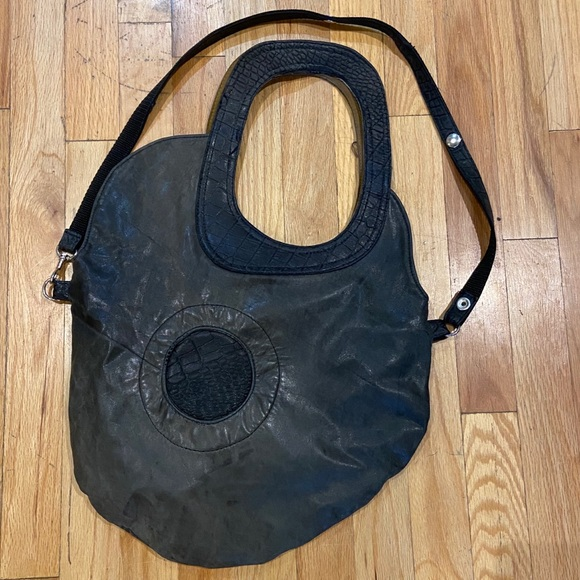 Locally made leather purse- convertible